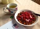 Green Tea, Honey Nut Granola, Dissertation. 2015