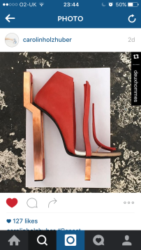 Gold & Red // Caroline Holzhuber